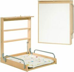 Roba Furniture Nappy Diaper Changing Of Baby Of Wooden Flip Wall With Matresses