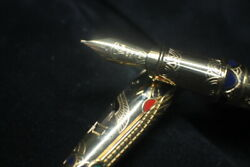 The New Pharaoh Limited Edition Series From S.t. Dupont Gold Nib Rare Edition