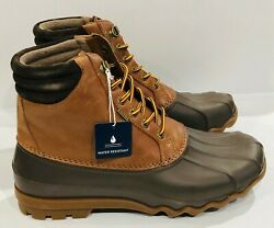 Sperry Top-sider Mens Avenue Duck Boots Tan / Brown Size 8.5