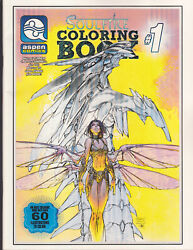 2 Lot Brand New Soulfire + Stoway To The Stars Coloring Books 1 Aspen Comics