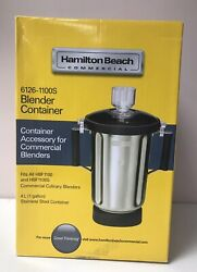 Hamilton Beach Commercial 6126-1100s Blender Container 4l Free Shipping
