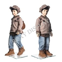 3 Year Old Kids Mannequin Flexible Head Arms And Legs Mz-km3y
