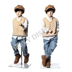 6 Year Old Kids Mannequin Flexible Head Arms And Legs Mz-km6y