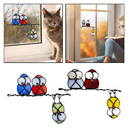 Removable Kids Cartoon Birds Wall Window Stickers Decals Living Room Decor