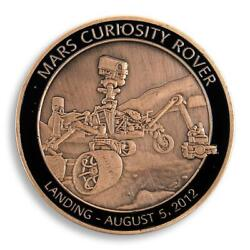 Planet Mars Curiosity Rover Space Exploration Nasa Technology Sopper Medal