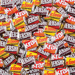 Bulk Hershey's Miniatures Chocolate Candy - Candy - 1250 Pieces