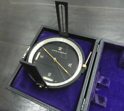 Vintage Keuffel And Esser 5534 Surveying Compass Ball In The Original Kande Case