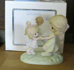 Precious Moments 114003 You Give Me Wings To Fly Mama And Butterfly Girl Figurine