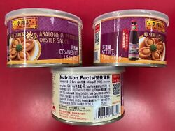 Lee Kum Kee Abalone In Premium Oyster Sauce. 7.8 Oz Can