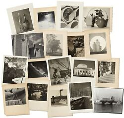 Duane A Martin / 18 Photographs Still Life Architecture And Landscape Signed