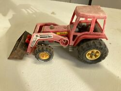 Antique Vintage Toy. Tonka Truck Tractor With Front End Loader