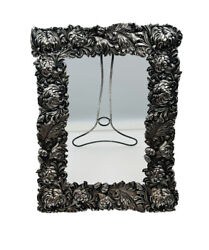 Shiebler Antique Aesthetic Sterling Silver Chrysanthemum Picture Frame