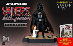 Gentle Giant Darth Vaderand039s Little Princess Leia Marquette And Book Fathers Day