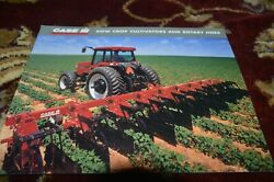 Case International Row Crop Cultivators And Rotary Hoes Brochure Fcca
