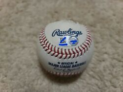 2020 Alec Mills Game Used Pitched No Hitter Ball Chicago Cubs Mlb Holo Rare