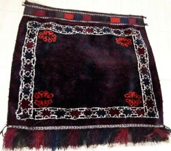 Antique Hand Made Traditional Turkish Rugs Oriental Virgin Pure Wool Rug 90×86cm