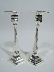 Candlesticks - 12039 - Classical Pair - American Sterling Silver