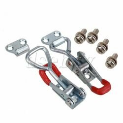 Red 2x Drawer Closet Chest Hardware Metal Adjustable S Toggle Latch Catch Lock