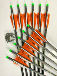 Killer Instinct Ripper 20 Half Moon Crossbow Bolts By Victory 12pk Free Points