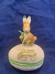 Antique German Rabbit An Egg Candy Container