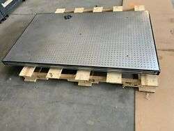 Newport Optical Table 3' X 5'  3 Thick Bread Board, 1/4-20 Holes In 1 Grid