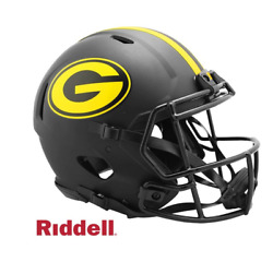 Nfl Green Bay Packers Riddell Authentic Full Size Speed Style Eclipse Helmet