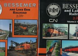 Bessemer And Lake Erie Railroad In Color, Vols. 1 And 2 Combo - Brand New Books