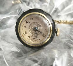 Pendant Roubey Jewel Rolex Watch Circa 1920