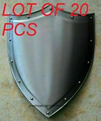 Medieval Reproduction Templar Armor Shield Made Solid Steel Sca Larp Gift