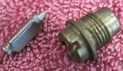 Nos Holley 18r-19a Ford 1cm-9564-a Needle And Seat Autocar Reo Ihc White Lincoln