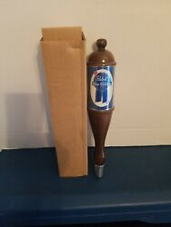 Vtg 1980s Pabst Beer Wooden Tap Handle Bar Game Room Man Cave Pbr Mib