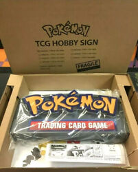 Limited Edition Pokemon Hobby Sign 20th Anniversary Neon Light 🔥🔥new🔥🔥