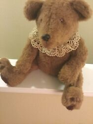 Vintage Irma Hessell Handmade Stuff Teddy Bear Rare Have Not Found Another