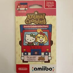 Nintendo Switch Animal Crossing Sanrio Collaboration Pack W/ 6 Cards Included