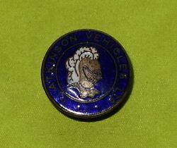 1950and039s Atkinson Commercial Vehicle Lorry Lorries Bus Truck Enamel Badge