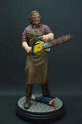 Extremely Rare Texas Chainsaw Massacre Leatherface Big Figurine Le 500 Statue