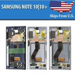 Samsung Galaxy Note 10 | 10+ Plus Lcd Replacement Screen Digitizer Frame Oem B