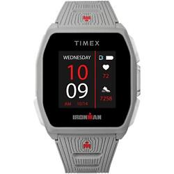 Timex Ironman R300 Gps Smartwatch With Heart Rate 41mm - Light Gray With Strap