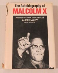 The Autobiography Of Malcolm X With Alex Haley Book Club Edition Bce Grove 1965