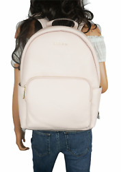 NWT MICHAEL KORS ERIN LARGE BACKPACK PEBBLED LEATHER PINK LAPTOP WILL FIT $134.00