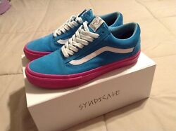 Golf Wang Syndicate Old Skool Blue Pink Size 8.5 - Excellent Condition