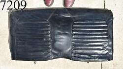 1965 1969 Ford Mustang Convertible Rear Seat Upper Section Black Vinyl 65 66 67