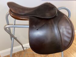 """Used Tad Coffin A5g 2002 17.5"""" Close Contact/jumping Saddle Great Condition"""