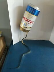 Hamms Beer Motion Moving Spinning Pouring Can Display Sign Bar Game Room Mn
