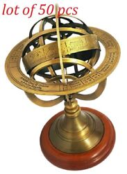 8 Antique Style Nautical Armillary Sphere Globe Table Antique Décor Gifted Item