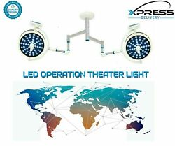 Led Ot Surgery Light 48+48 Surgical Operating Lamp Double Satellite Ceiling Lamp