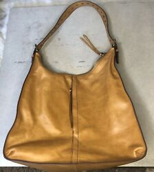 Hobo International Tan Leather Shoulder Bag Purse $68.00
