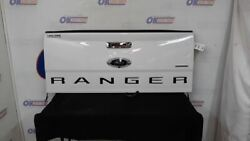 2019 Ford Ranger Xlt Oem Tailgate Assembly White With Camera Chrome Handle