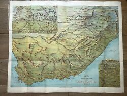 Birds Eye View Of South Africa Baconand039s No8 Map