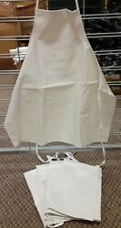 Lot 5, Grocers/butchers/gardening Aprons Fashion Seal 100 Polyester Vinyl, Nwt